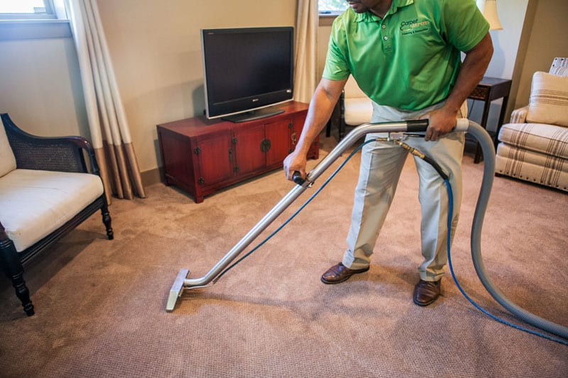 Leesburg Carpet Cleaner using green cleaning